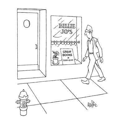 Billie Jo's - New Yorker Cartoon