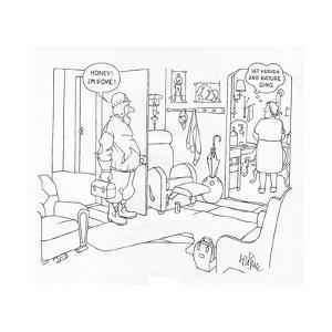 New Yorker Cartoon by George Price