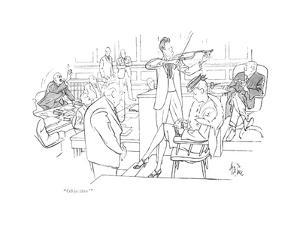 """""""Objection!"""" - New Yorker Cartoon by George Price"""