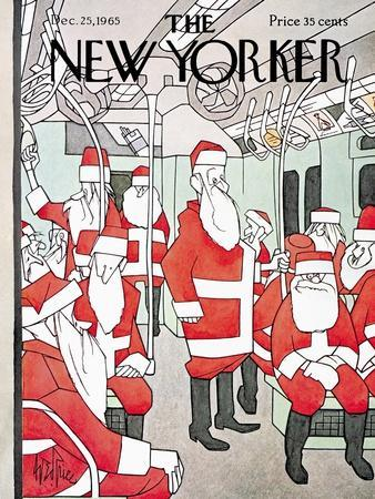 The New Yorker Cover - December 25, 1965