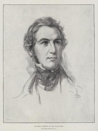 An Early Portrait of Mr Gladstone