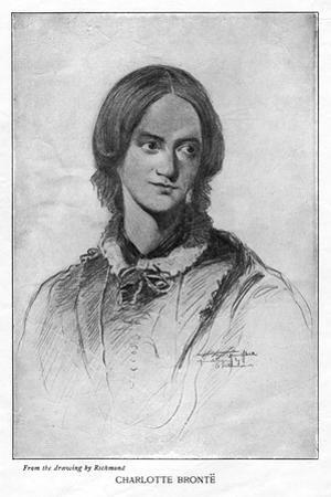 Charlotte Brontë, English Novelist, 1906