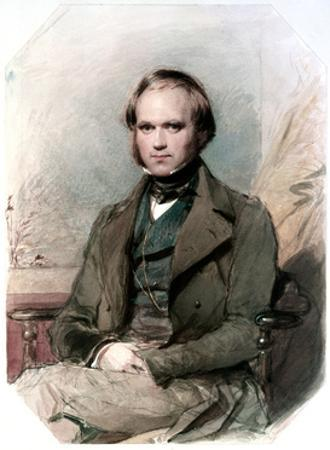 Portrait of Charles Darwin, 1840