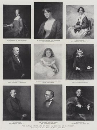 The Family Portraits of the Gladstones at Hawarden