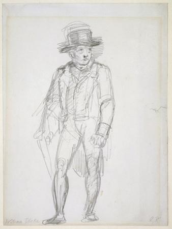 William Blake Walking