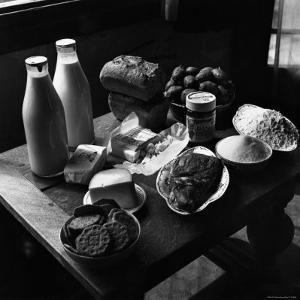 Rations of Fresh Produce Following World War II, c.1946 by George Rodger