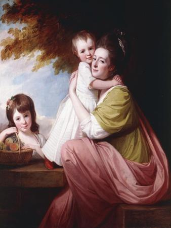 Group Portrait of Dorothy Stables and Her Daughters