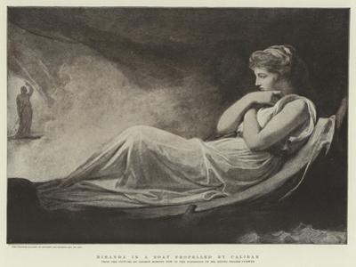 Miranda in a Boat Propelled by Caliban
