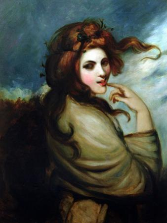 Portrait of Emma Hamilton (C.1765-1815)