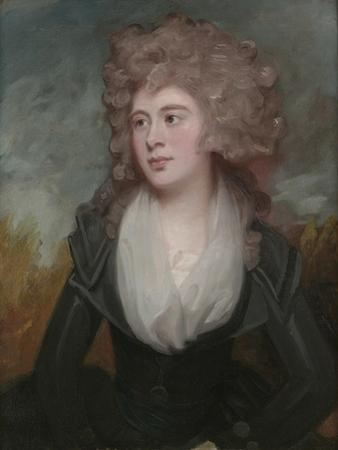 Portrait of Mary Macdonnell Chichester in an Original Frame by the Artist