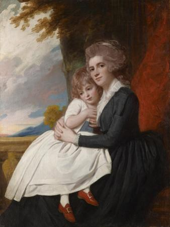 Portrait of Mrs Thomas Raikes with Her Daughter