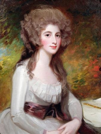 Portrait of the Hon Mrs Richard Tickell, Nee Ley (1756-87)