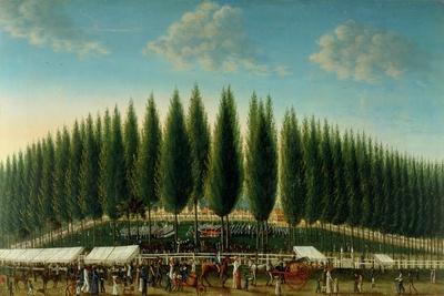 Salem Common on Training Day, 1808