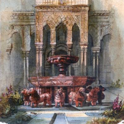 Mauresque Fountain, 1820-1876