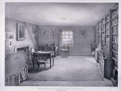 Samuel Taylor Coleridge's Study in Highgate, Haringey, London, C1835