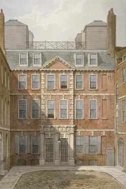 Beaufort Buildings, Strand, Westminster, London, C1810 by George Shepherd