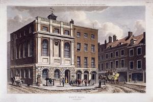 Borough High Street, Southwark, London, 1815 by George Shepherd