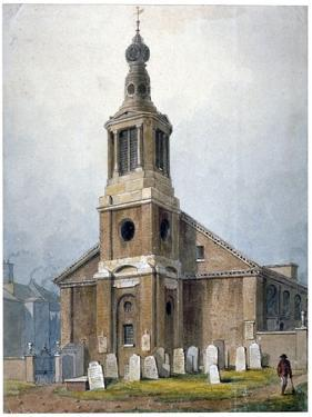 Church of St Anne, Dean Street, Soho, London, 1828 by George Shepherd