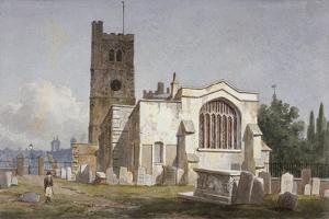 Church of St Mary at Lambeth, London, C1810 by George Shepherd