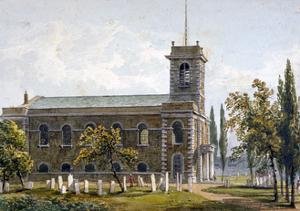 Church of St Matthew, Bethnal Green, London, 1817 by George Shepherd