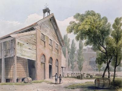 Messrs Beaufoy's Distillery, Formerly Cuper's Gardens, 1809