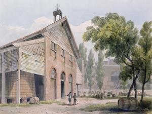 Messrs Beaufoy's Distillery, Formerly Cuper's Gardens, 1809 by George Shepherd