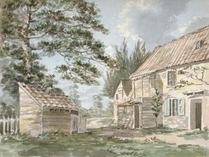 Overshot Mill Near Greenford, Middlesex, 1797 by George Shepherd