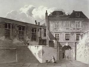 Shaftesbury House, Aldersgate Street, London, 1811 by George Shepherd