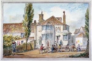 The Queen's Head and Artichoke Inn, Regents Park, London, C1810 by George Shepherd