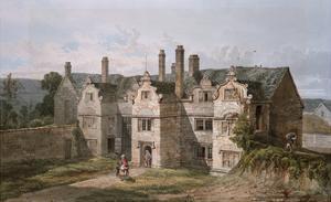 View of Trerice, Cornwall, 1819 by George Shepherd