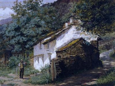 Easedale Cottage, 1882 by George Sheridan Knowles