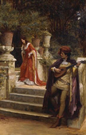 The Minstrel's Lay by George Sheridan Knowles