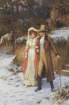 The Morning Walk by George Sheridan Knowles