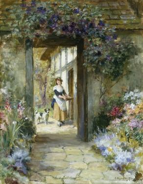 Through the Garden Door by George Sheridan Knowles