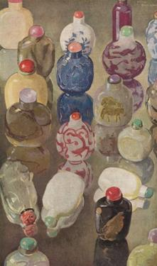 'Chinese Snuff Bottles', c1923 by George Sheringham