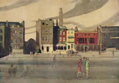 London in Spring, 19th Century, (1938) by George Sheringham
