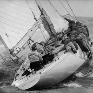 America's Cup Contender Weatherly Racing by George Silk