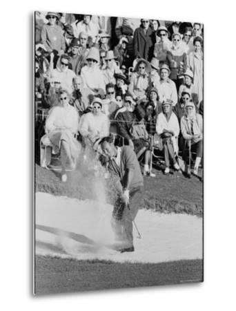 Golf Player Arnold Palmer, Blowing His Lead on the 18th Hole in the Master's Golf Tournament by George Silk