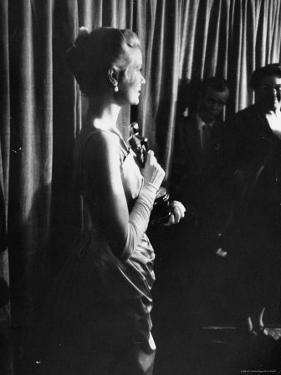 Grace Kelly Holding Her Oscar by George Silk