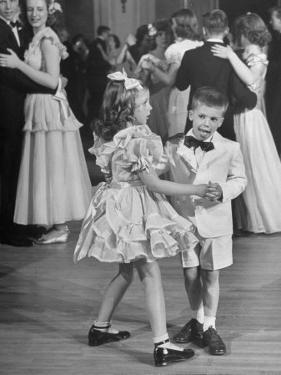 Sharon Queeny Dancing with Charles La Fond, Annual Ball Given by Dancing Teacher Annie Ward Foster by George Skadding