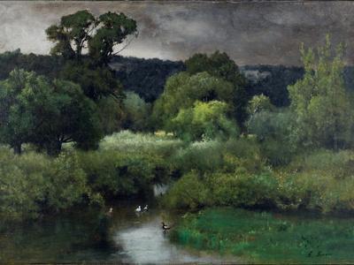 A Grey Lowery Day, 1877