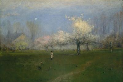 Spring Blossoms, Montclair, New Jersey, c.1891 by George Snr. Inness