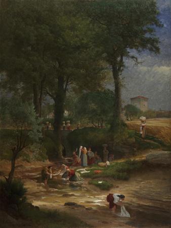 Washing Day Near Perugia, 1873