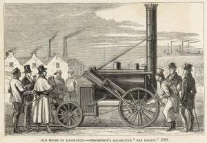 George Stephenson's Locomotive 'the Rocket'
