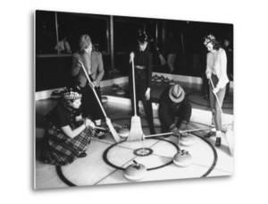 A View of People Playing a New Game Called Curling by George Strock