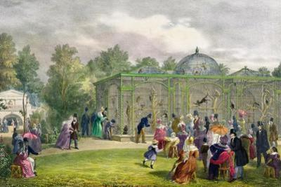 The Monkey House at the Zoological Gardens, Regent's Park, Engraved and Pub. by the Artist,…