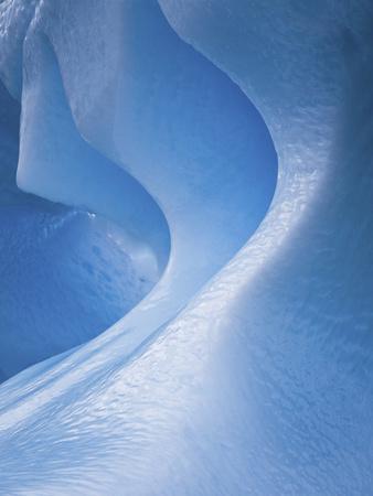 Antarctica, Blue ice, fine art, close-up