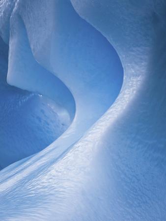 Antarctica, Blue ice, fine art, close-up by George Theodore