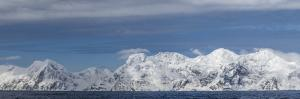 Antarctica, Elephant Island, panorama by George Theodore