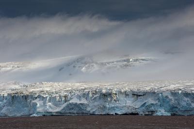 Antarctica, glacier, blue ice, Gerlach Strait by George Theodore